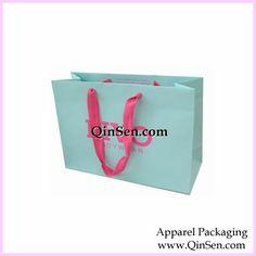 Elegant Paper Gift bag with Custom Logo for lingerie shopping