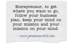 Entrepreneur - Stay in Your Lane