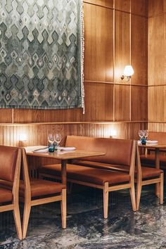 Situated in London's recently redeveloped St. James's Market neighbourhood, Aquavit is a 142 cover N Design Café, Booth Design, Wall Design, Restaurant Interior Design, Cafe Interior, Private Dining Room, Dining Rooms, Restaurant Booth, Timber Panelling