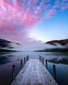 "Lake Rotoiti, New Zealand from Daniel Murray | New Zealand (@danielmurray.nz) on Instagram: ""A frosty start to the day at Lake Rotoiti, Nelson Lakes National Park. Wish I'd taken my gloves #NZ_lakes #lakerotoitiNZ"