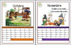 Calendario Oct nov