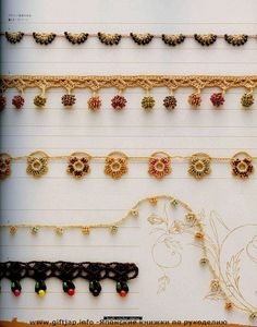 Beads Crochet Edging