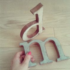 From Florence With Love #Wood #Letters #Florence #shabbychic #vintagedecor