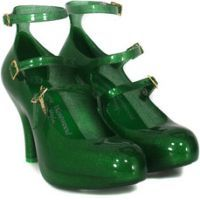 Vivienne Westwood shoes with three straps
