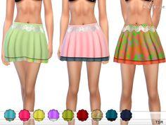 ekinege's Beach Mini Skirt