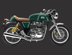 The Royal Enfield Continental GT is the lightest, fastest, most powerful Royal Enfield in production. A machine with a story, a nod to motorcycling's finest hour; a painstaking collaboration.