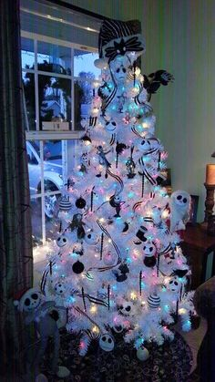 jack skellington christmas tree