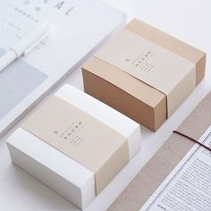 Muji Style Kraft Memo Pad Blank Page Mini Notepad Portable Sticky Notes Post It Paper Bookmark School Office Supplies