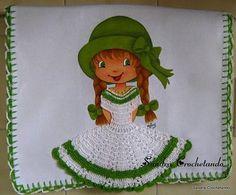 ENCANTOS EM PONTO CRUZ: Riscos de Bonecas para Pintura em Tecido