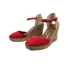 Shop Wedge Shoes from Spain High Wedges, Lace Up Wedges, Black Wedge Sandals, Wedge Shoes, Espadrille Sandals, Espadrilles, Black Suede, Black Leather, Taupe