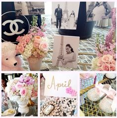 Paris Themed Baby Shower | Adrienne Bosh Throws Parisian-Themed Baby Shower [Photos]