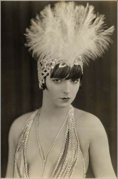 Louise Brooks photographed for The American Venus, 1926