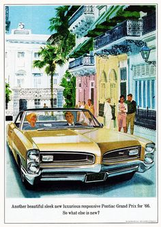 1966 Pontiac Grand Prix by aldenjewell on Flickr.1966 Pontiac... | Chromjuwelen.com