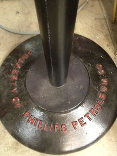 Phillips 66 base for sign