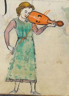 """The Rutland Psalter"", c1260, England (British Library Add MS 62925, f 48v)"