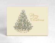 #christmas #card #elegant #scriptfont