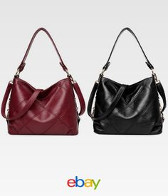 1bcbf1407b Women s Shoulder Bag Pu Leather Retro Messenger Crossbody Handbag Satchel  Purse