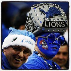 Fans of Detroit Lions