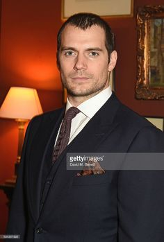 Henry Cavill wearing dunhill attends dunhill Autumn Winter 2016 Collection Presentation LCM on January 10, 2016 in London, England.
