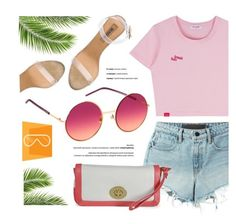 """""""SMARTBUYGLASSES.com"""" by monmondefou ❤ liked on Polyvore featuring T By Alexander Wang, YEEZY Season 2 and marcjacobssunglasses"""