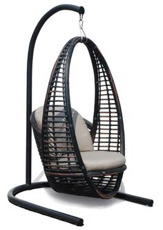 A new swing chair we are considering ... something you would put in your backyard or inside the house as a statement piece?