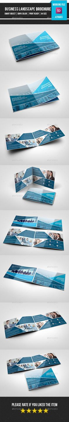 Corporate Brochure Template #design #print Download: http://graphicriver.net/item/corporate-brochure-templatev268/11940472?ref=ksioks