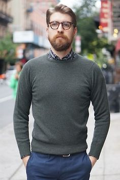 Sweater. Too. Small ~ Old Man Fancy.