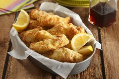 Add fried fish to your menu without the fatty oil with Air-Fryer Fish Sticks. Coat Air-Fryer Fish Sticks with panko bread crumbs and Parmesan cheese. Kraft Recipes, Fish Recipes, Seafood Recipes, Dinner Recipes, Joy Of Cooking, Healthy Cooking, What's Cooking, 300 Calories, Air Fryer Fish