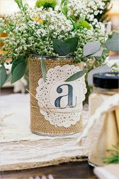 ideas decoracion mesas latas - Buscar con Google