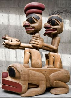 file Native Art, Native American Art, American History, Jim Hart, Little Cherubs, Haida Art, Wood Carving Designs, Tlingit, Indigenous Art