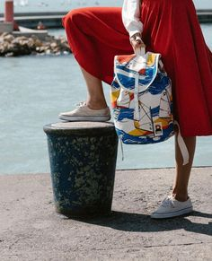 If you were looking for a statement piece for this summer, well here it is! TheYKRA SAILOR PACK is sure to turn heads! Drop a like if… Sailor, Packing, Wellness, Drop, Backpacks, Summer, Instagram, Bag Packaging, Summer Time