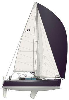Delphia 31 Swing keel version, inside ballast