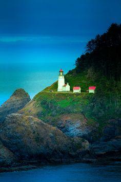 ~~Heceta Head Lighthouse • coastal Oregon by melissearl~~
