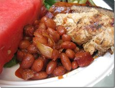Featured Recipe fo the Week: Crockpot Baked Beans | Friends for Weight Loss
