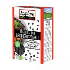 Explore Cuisine Organic Black Bean Spaghetti is organic, low in carbs, gluten free, high in fiber and protein. This healthy spaghetti cooks al dente and tastes great. Gluten Free Pasta, Gluten Free Desserts, Gluten Free Recipes, Vegan Recipes, Diabetic Desserts, Fast Recipes, Diabetic Recipes, Healthy Desserts, Healthy Meals