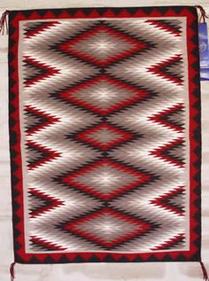 Navajo Rug.....love the pattern and Colors!