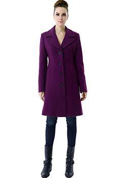 BGSD Women's 'Joan' Wool Blend Classic Single Breasted Melton Coat - Amethyst 2X BGSD http://www.amazon.com/dp/B00OZHBTYA/ref=cm_sw_r_pi_dp_9vB2ub063DN4T