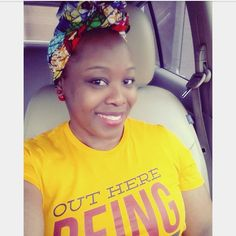 """Tomi Choyce on Instagram: """"In these streets wearing my 'Out Here Being Cute' tshirt from @izzyandliv """""""