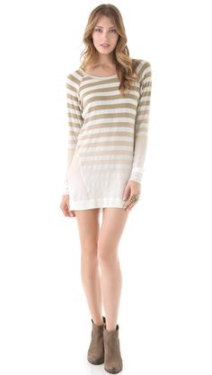 Young Fabulous & Broke Afton Ombre Sweater Dress | SHOPBOP