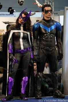 Nightwing cosplay | deviantART: More Like Rockabilly Nightwing Cosplay by ~bewitchedraven