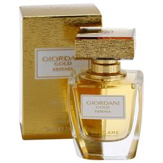 Composed around Oriflame's exclusive Orange Blossom Luxury Essenza note, radiant Giordani Gold Essenza Parfum evokes true luxury and craftsmanship from its exquisite glass bottle, its cap dressed in real gold leaf to its highly concentrated and diffusive fragrance. A premium floral woody parfum that inspires beautiful living. Glass Bottles, Perfume Bottles, Cap Dress, Orange Blossom, Floral, Gold Leaf, Fragrances, Beauty, Beautiful