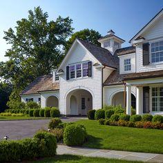 White Houses  |  Brooks & Falotico | Country House Renovation