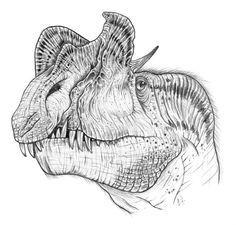 Dilophosaurus by Christoferson on deviantART