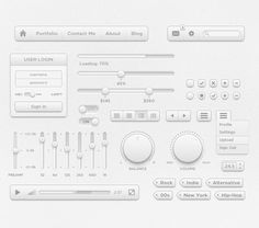 Poky UI Kit - 365psd