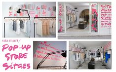 pop up store sita murt retail visual merchandising en Sitges.