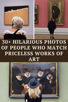 """""""People Matching Famous Paintings"""" is both hilarious and fascinating, and helps connect people to gorgeous paintings that have lasted for 100s of years. Witty Jokes, Dark Humor Jokes, Some Funny Jokes, Crazy Funny Memes, Really Funny Memes, Funny Facts, Haha Funny, Hilarious, Punny Puns"""