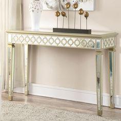 Coaster Accent Cabinets Mirrored Console Table - Coaster Fine Furniture