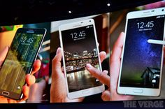 Samsung Galaxy Note 4!  ©TheVerge