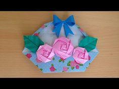 Cute Origami, Kids Origami, Origami Rose, Origami Flowers, Origami Paper, Pattern Drafting Tutorials, Modelista, Origami Tutorial, Oriental