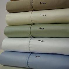 Best Luxury Soft 1200 Thread Count Sheets 100% Combed Cotton Silky Smooth Set